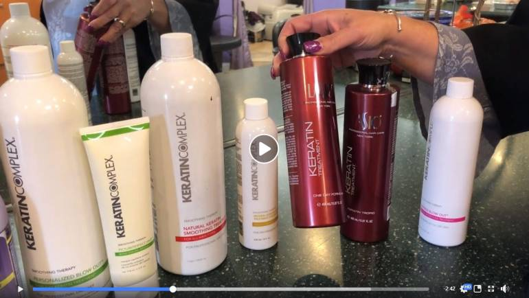 Relaxers, Straighteners, Magic Sleek, & Keratin Treatments