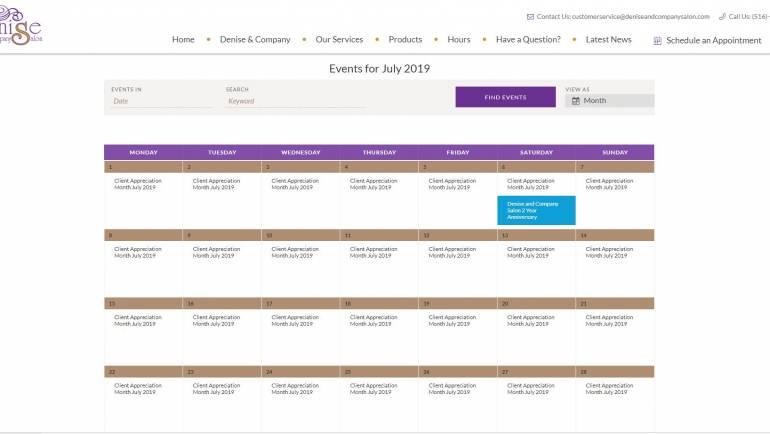 Our Calendar for 2019 – 2020
